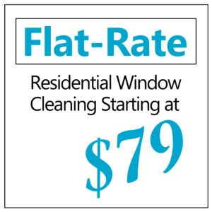 window cleaning flat rate